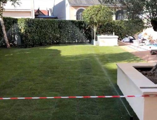 Fin des travaux du jardin et de la terrasse