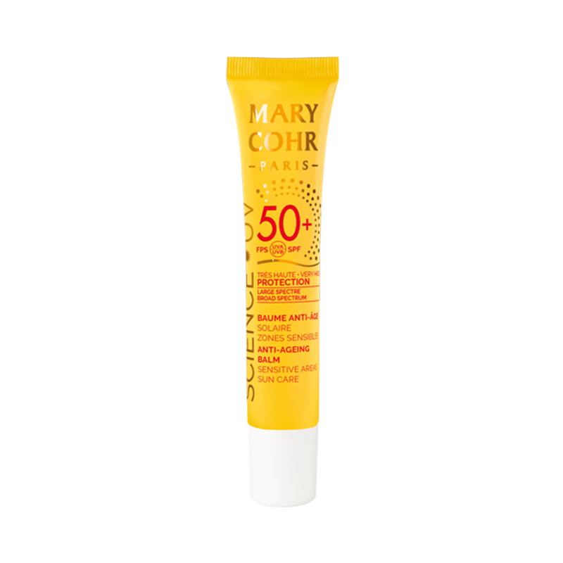 SPF50+ Baume Anti-Âge Zones sensibles - Mary Cohr