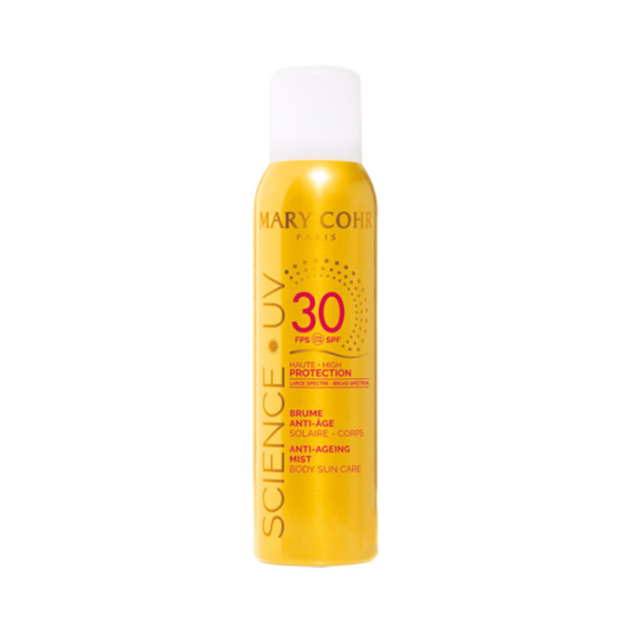 SPF30 Brume Anti-Âge Corps - Mary Cohr