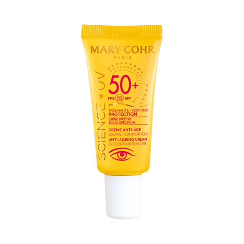 SPF50+ Crème Anti-Âge Contour des yeux - Mary Cohr