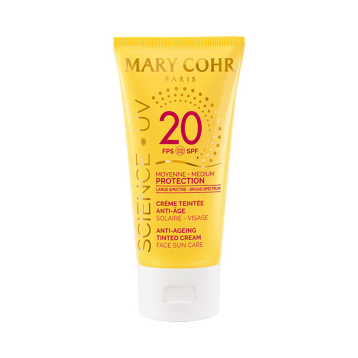 SPF20 Crème Teintée Anti-Âge Visage - Mary Cohr