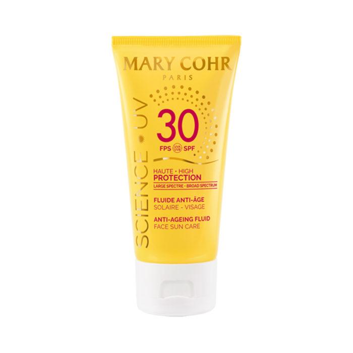 SPF30 Fluide Anti-Âge Visage - Mary Cohr