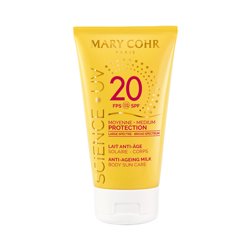 SPF20 Lait Anti-Âge Corps - Mary Cohr