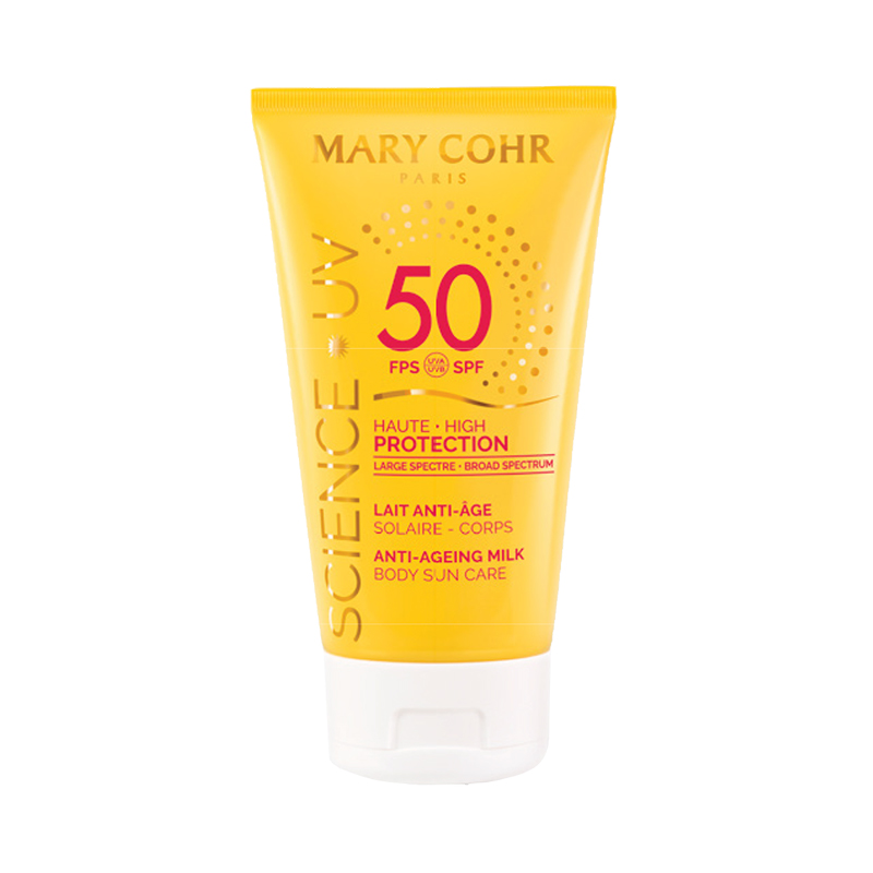 SPF50 Lait Anti-Âge Corps - Mary Cohr
