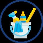 Nettoyage complet des tables de soins après chaque prestation